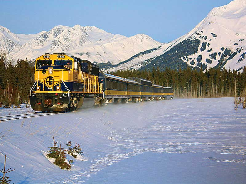 Alaska Aurora Winter Train with Chena Hot Springs | Alaska Railroad