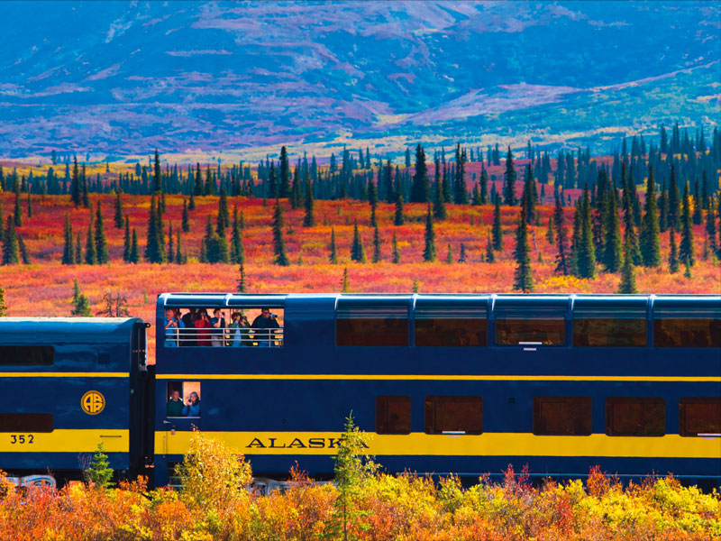 Alaska Train Tours | Alaska Railroad