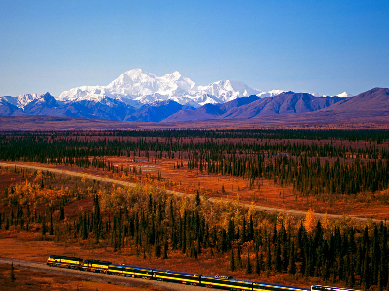 Alaska Cruise and Land Tour | Anchorage Denali Explorer | Alaska Railroad with Denali