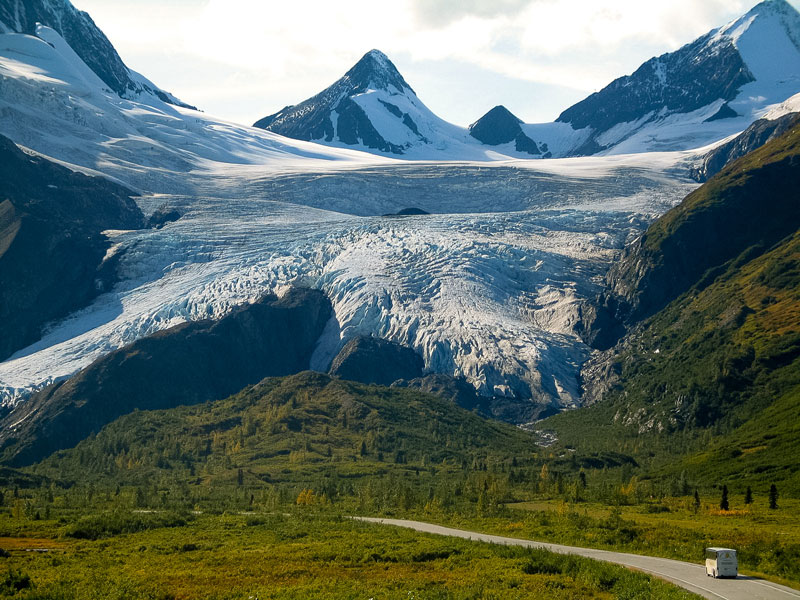 Alaska Discovery Road Trip with Alaska Railroad | Worthington Glacier