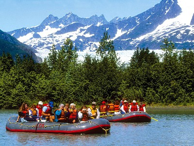 Juneau Shore Excursion | Mendenhall Glacier Float Trip