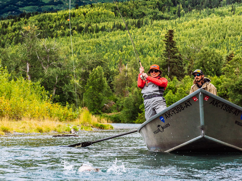 Alaska Fishing Trips | Kenai Drifters Fishing Lodge