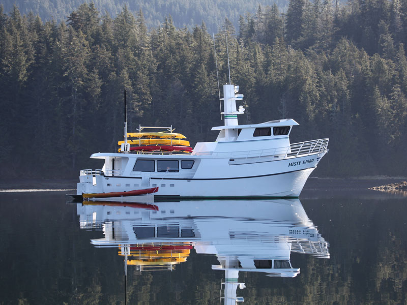 Small Ship Cruises Alaska | Alaska Islands, Whales & Glaciers